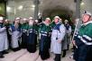 19 августа. Патриарший визит в Мурманскую митрополию. Посещение Кировского рудника. Спуск в шахту