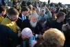 6 сентября. Патриарший визит в Анадырскую епархию. Закладка храма в Певеке