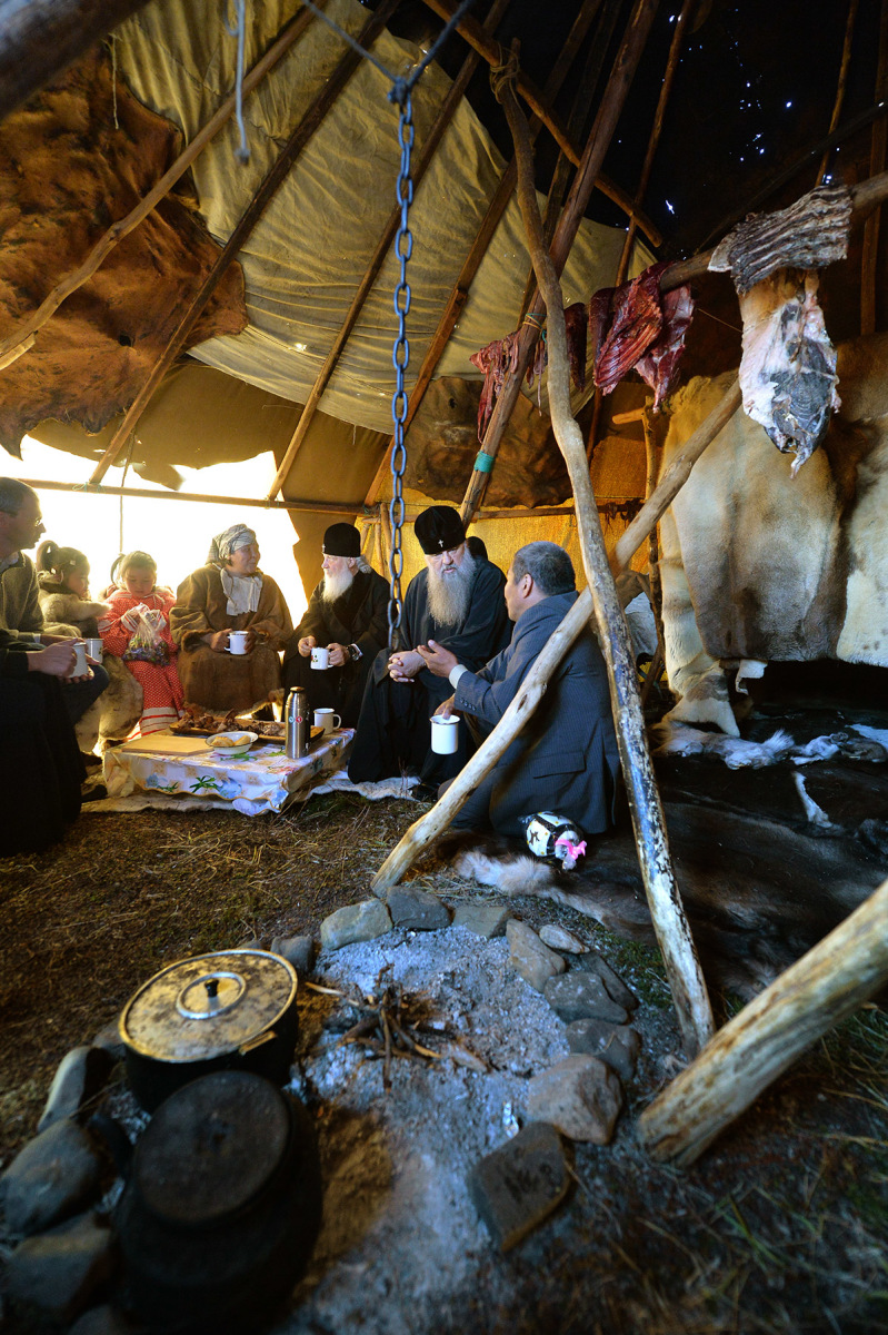 7 сентября. Посещение оленеводческой бригады в Канчаланском районе Чукотки