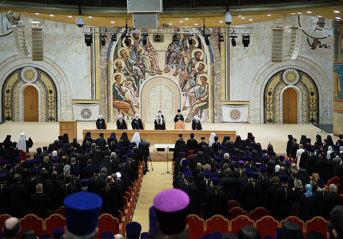 22 декабря. Епархиальное собрание города Москвы