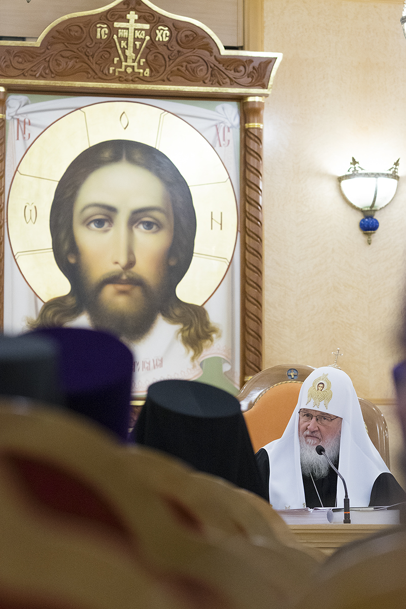 16 декабря. Заседание Епархиального совета г. Москвы