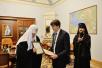18 декабря. Визит в Санкт-Петербургскую епархию. Встреча с главой Рособрнадзора