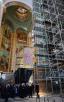 28 ноября. Патриарший визит в Калининградскую митрополию. Осмотр росписей кафедрального собора Христа Спасителя в Калининграде