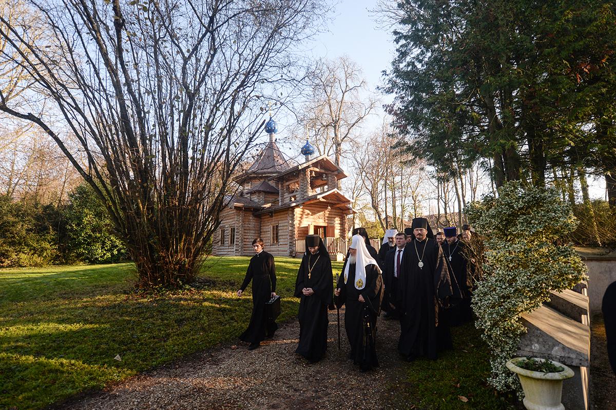 5 декабря. Патриарший визит в Корсунскую епархию. Посещение Духовно-образовательного центра