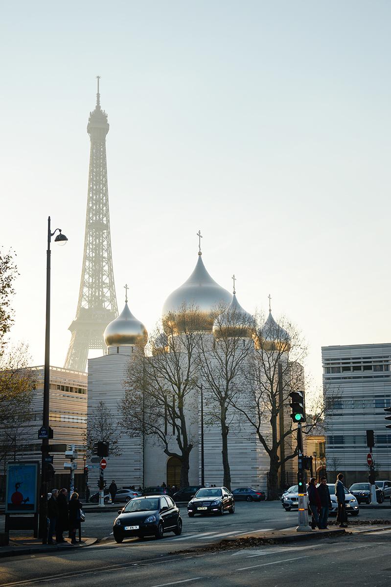 3 декабря. Патриарший визит в Корсунскую епархию. Посещение Православного духовно-культурного центра в Париже