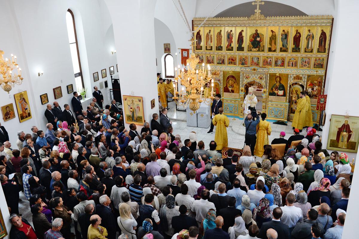 14 февраля. Литургия в храме Казанской иконы Божией Матери в Гаване