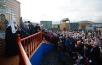 9 сентября. Патриарший визит в Якутскую епархию. Посещение поселка Тикси