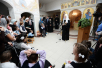 7 января. Посещение Свято-Софийского детского дома в Москве Посещение Святейшим Патриархом Кириллом Свято-Софийского детского дома в МосквеВерсия для печати
