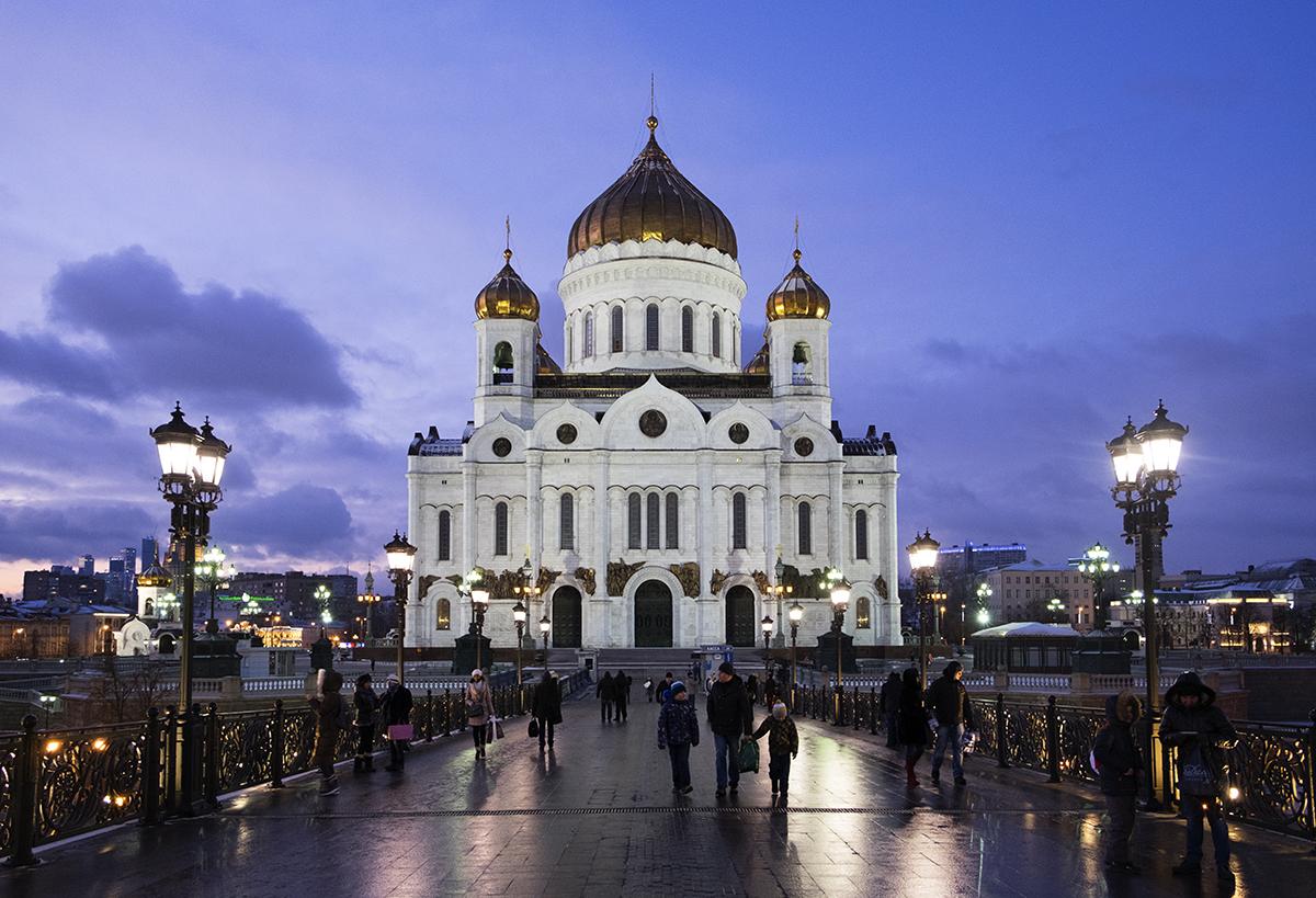 Кафедральный соборный Храм Христа Спасителя в Москве