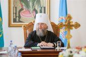 «Наша жизнь становится богоугодной, если мы делаем добрые дела». Интервью митрополита Астанайского и Казахстанского Александра, посвященное итогам 2016 года