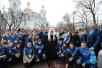 19 октября. Патриарший визит в Санкт-Петербургскую епархию. Литургия в Николо-Богоявленском морском соборе