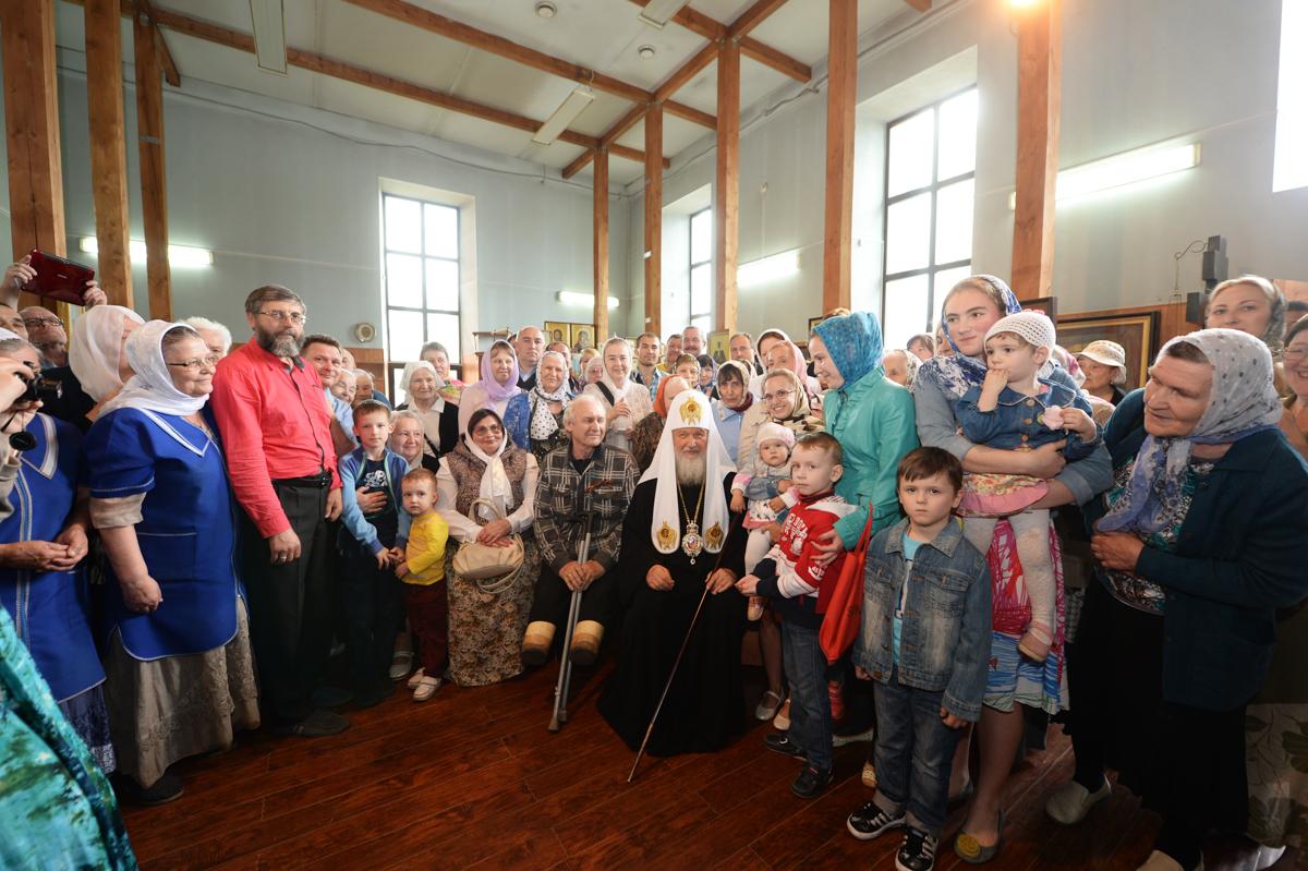 5 июня. Посещение Воскресенского собора в Уфе