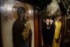 3 декабря. Патриарший визит в Корсунскую епархию. Всенощное бдение в Трехсвятительском храме в Париже