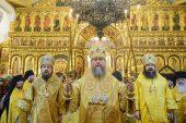В новогоднюю ночь митрополит Астанайский Александр совершил Литургию в Вознесенском соборе г. Алма-Аты
