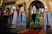 Слово Святейшего Патриарха Кирилла в день памяти святителя Петра, всея России чудотворца, после Литургии в Успенском соборе Московского Кремля