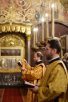Патриаршее служение в день памяти святителя Московского Петра в Успенском соборе Московского Кремля. Хиротония архимандрита Викентия (Брылеева) во епископа Златоустовского и Саткинского