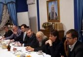 Состоялось заседание Совместной комиссии Русской Православной Церкви и Министерства здравоохранения Российской Федерации