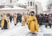 Председатель Синодального отдела по монастырям и монашеству возглавил торжества по случаю престольного праздника Высоко-Петровского ставропигиального монастыря