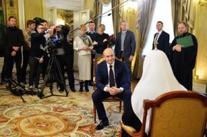 7 января на телеканале «Россия 1» выйдет в эфир Рождественское интервью Святейшего Патриарха Кирилла