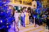 В навечерие Рождества Христова Предстоятель Украинской Православной Церкви совершил Литургию в Киево-Печерской лавре