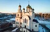 Митрополит Астанайский и Казахстанский Александр совершил великое освящение Михаило-Архангельского храма в Павлодаре