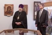 Митрополит Красноярский и Ачинский Пантелеимон принял участие в презентации уникального музейного проекта в Красноярске