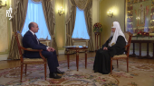 Рождественское интервью Святейшего Патриарха Кирилла телеканалу «Россия 1»