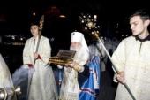 В Среднеазиатский митрополичий округ принесены мощи святителя Феофана Затворника