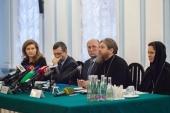 В Санкт-Петербурге состоялась пресс-конференция, посвященная передаче Исаакиевского собора в пользование Церкви