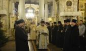 Представители Поместных Православных Церквей поздравили митрополита Волоколамского Илариона с 15-летием архиерейской хиротонии