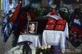 В Новодевичьем монастыре Патриарший наместник Московской епархии совершил отпевание Елизаветы Глинки