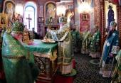 В Серафимо-Дивеевском монастыре состоялись праздничные богослужения, посвященные памяти преподобного Серафима Саровского