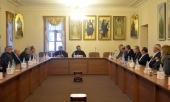Председатель ОВЦС встретился с руководством палестинских национальных организаций