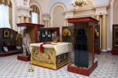 В Александро-Невской лавре состоится презентация постоянной экспозиции музея