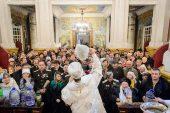 В праздник Богоявления глава Казахстанского митрополичьего округа совершил Литургию в Вознесенском кафедральном соборе Алма-Аты