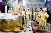 În Duminica după Arătarea Domnului întâistătătorul Bisericii Ortodoxe din Ucraina a săvârșit Liturghia în Lavra Pecerska din Kiev
