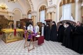 В Александро-Невской лавре состоялась презентация постоянной экспозиции музея