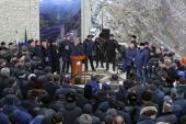 """Episcopul de Makhachkala Varlaam a luat parte la inaugurarea compexului memorial """"Ahulgo"""" din raionul Untsukulski al Daghestanului"""