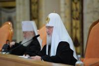 Слово Святейшего Патриарха Кирилла на открытии пленума Межсоборного присутствия Русской Православной Церкви