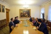 Представители Церкви провели встречу с кандидатом от Египта на пост генерального секретаря ЮНЕСКО