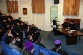 В рамках Рождественских чтений прошло совещание руководителей епархиальных отделов по взаимодействию с Вооруженными силами