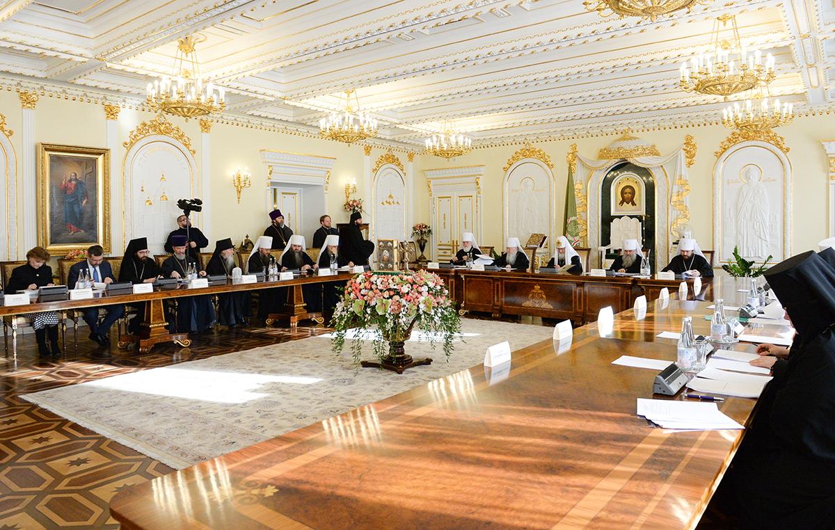 Заседание президиума Межсоборного присутствия Русской Православной Церкви