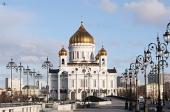 В Храме Христа Спасителя состоялся прием по случаю восьмой годовщины интронизации Святейшего Патриарха Кирилла