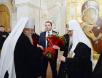 Поздравление Святейшего Патриарха Кирилла с восьмой годовщиной интронизации