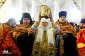 Со 2 по 6 февраля в Одесской епархии пребывают мощи святого великомученика и целителя Пантелеимона с Афона