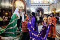 Слово Святейшего Патриарха Кирилла при вручении архиерейского жезла Преосвященному Сергию (Телиху), епископу Маардускому