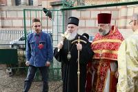 Святейший Патриарх Сербский Ириней совершил Литургию на подворье Русской Церкви в Белграде