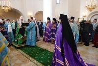 Слово Святейшего Патриарха Кирилла при вручении архиерейского жезла Преосвященному Алексию (Елисееву), епископу Галичскому и Макарьевскому