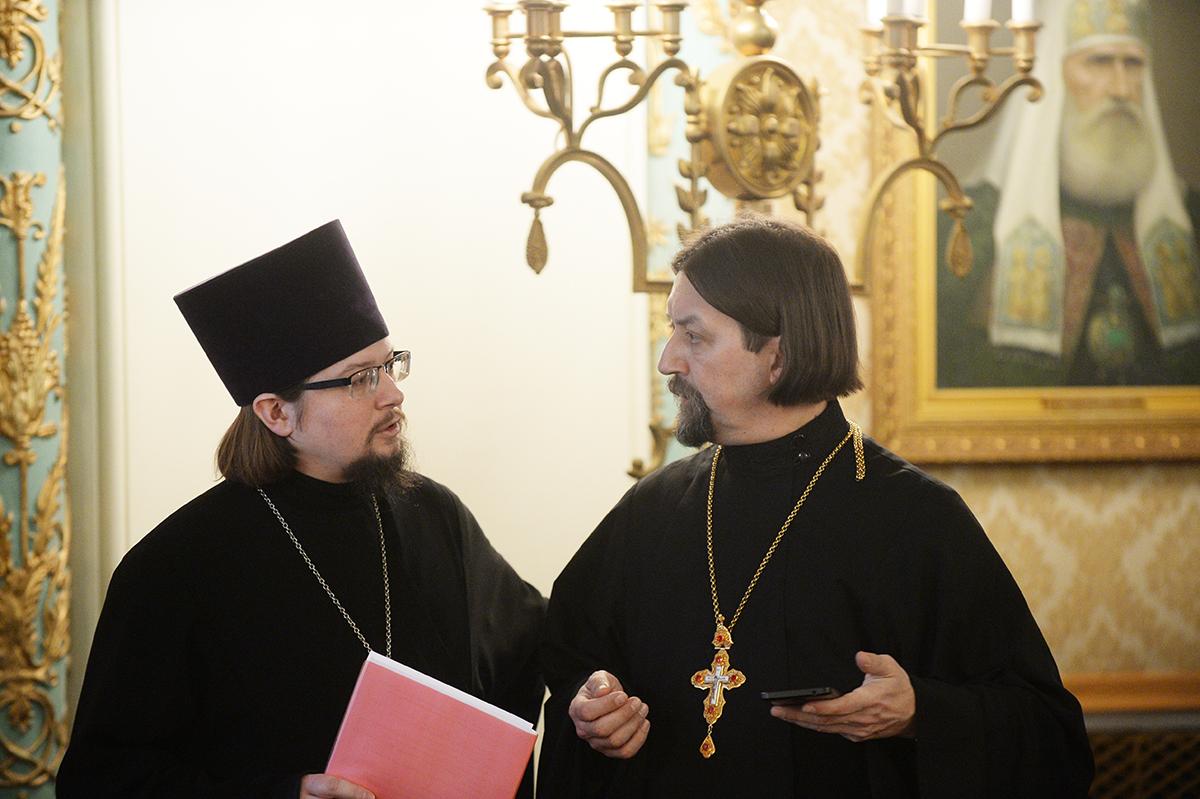 Заседание Высшего Церковного Совета 17 февраля 2017 года