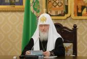 Заява Святішого Патріарха Кирила у зв'язку з передачею Ісаакіївського собору в користування Церкві